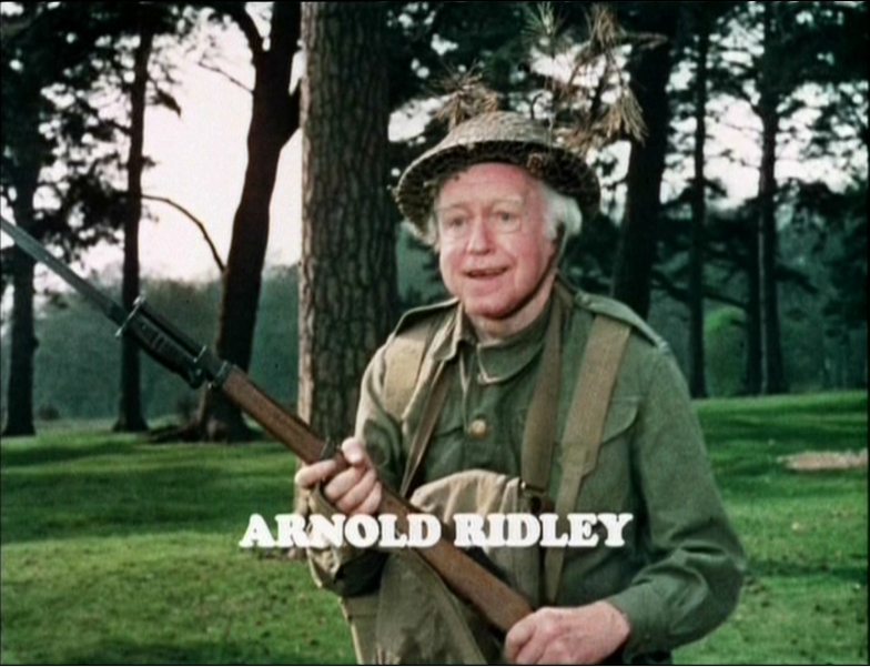 Image result for DAD'S ARMY - arnold ridley