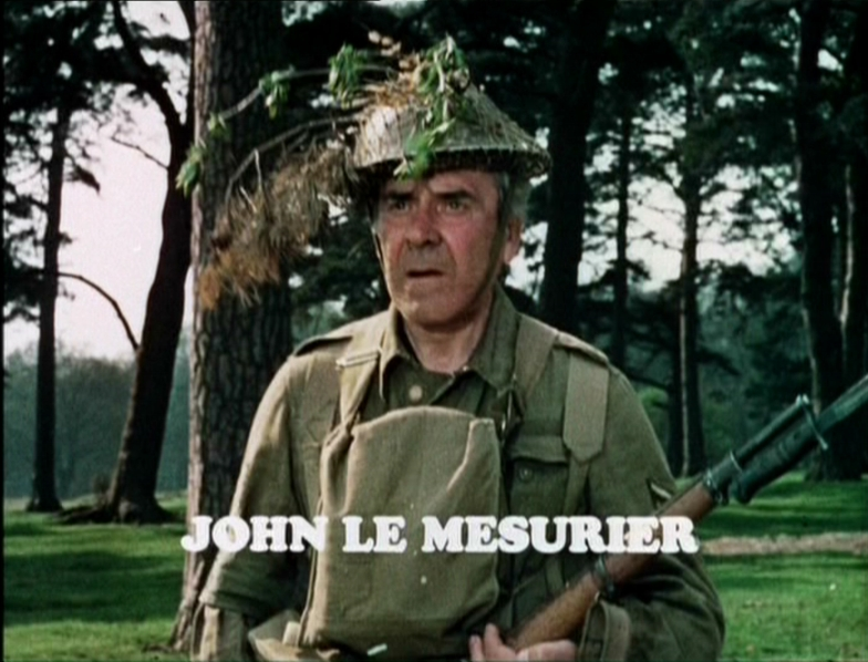 Image result for DAD'S ARMY - john le mesurier