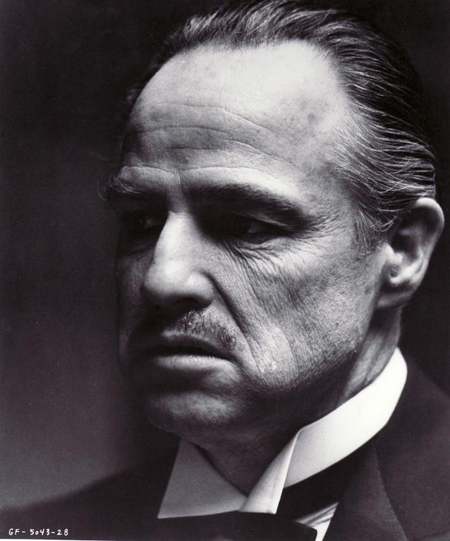 Marlon Brando Autograph Study Samples
