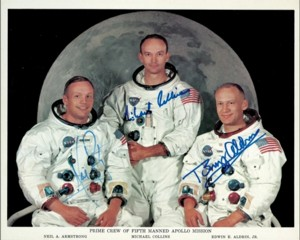 Astronaut, Space, and Apollo autographs